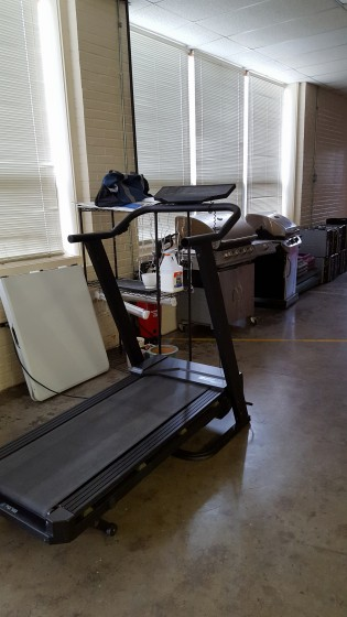 Treadmill and gas grills