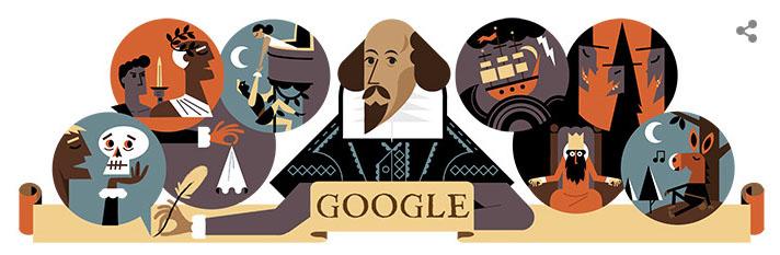 Shakespeare doodle