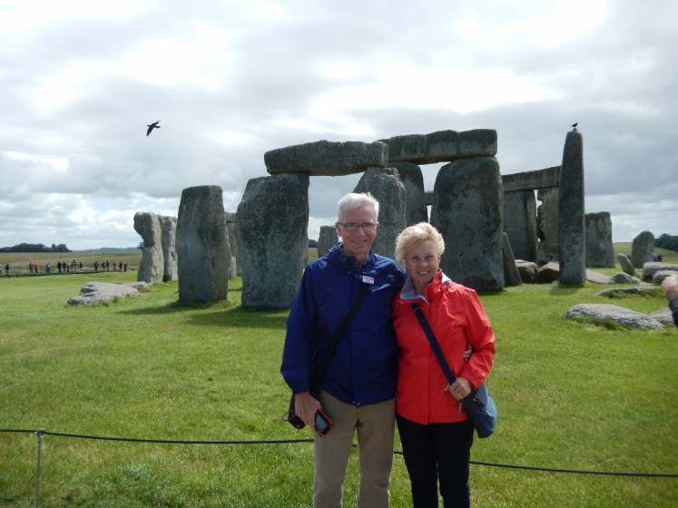 Who is that good-looking couple at Stonehenge?