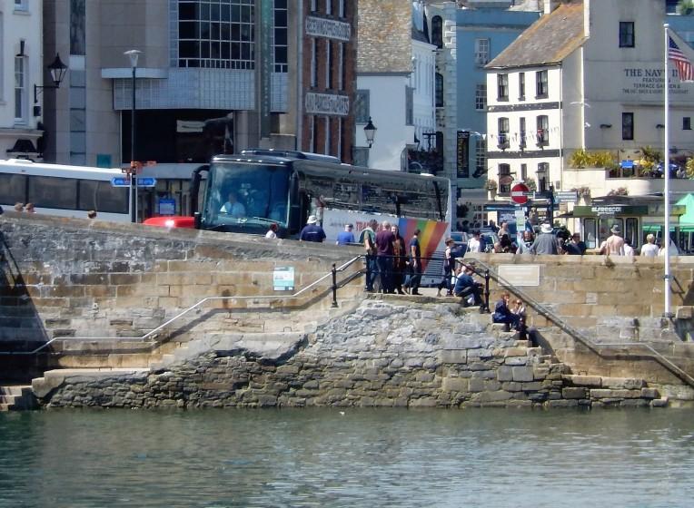 The Mayflower Steps.