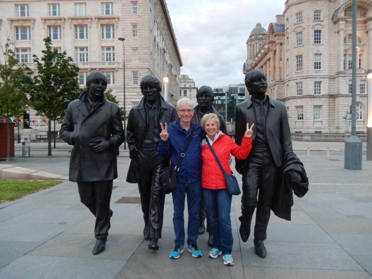 Paul, John, George, Ringo, and us