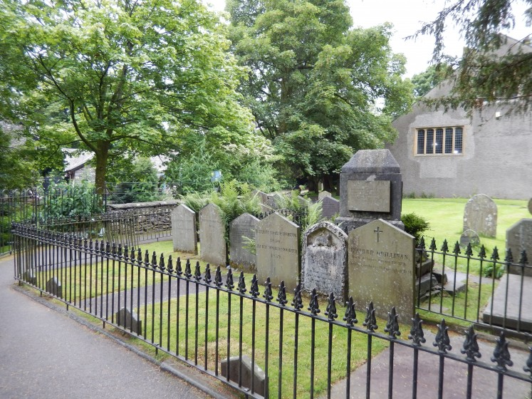 Wordsqworth's family graves