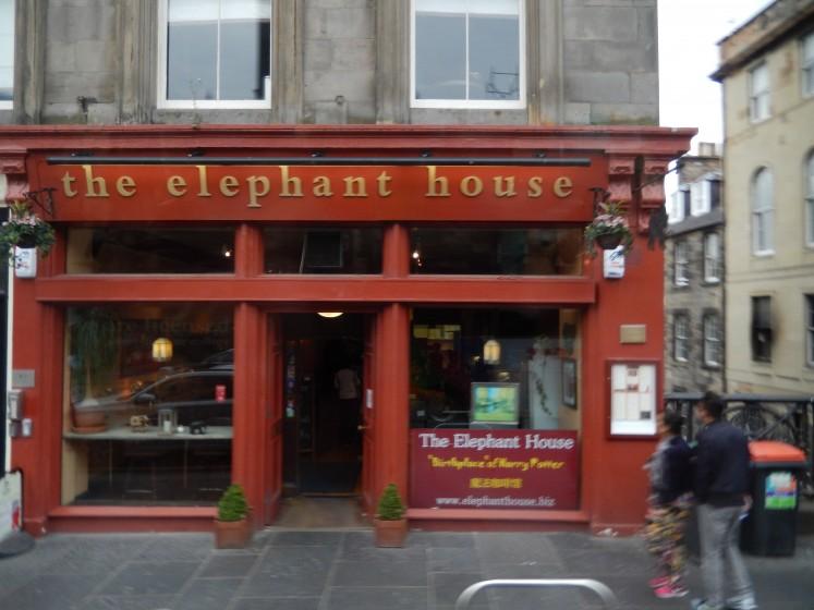 Where J. K. Rowling did her best writing.