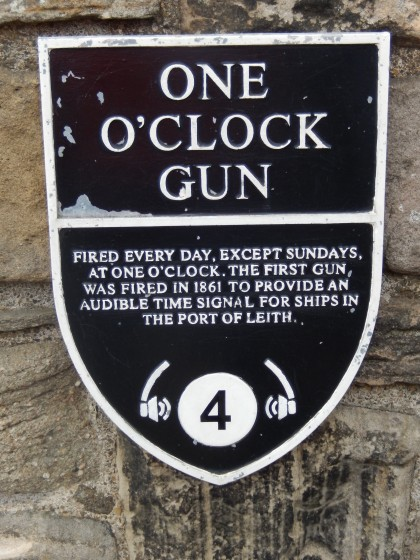 Information about the One O;'clock Gun.