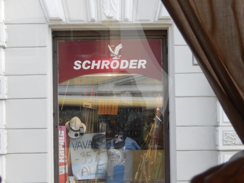 Schroder--just like they pronounce our name in Missouri.