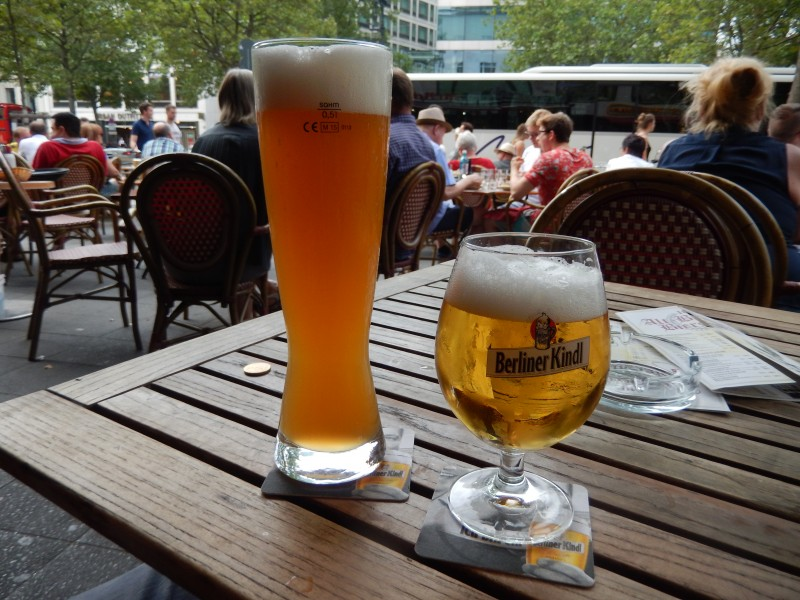 You can't beat German beer!