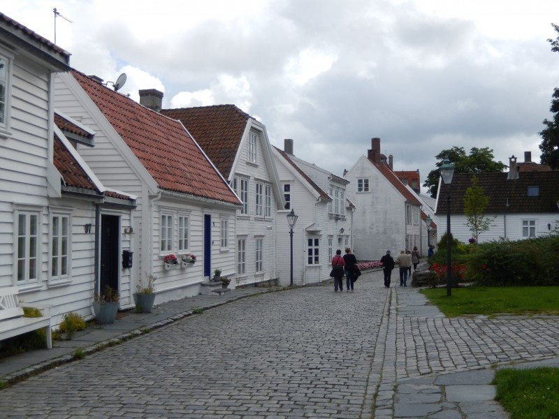 As the ship tour director pointed out in nearly every port talk, the town has cobblestone streets and walks and requires comfortable walking shoes.
