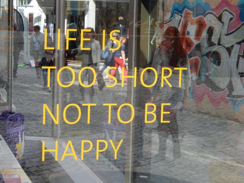 A good philosophy!