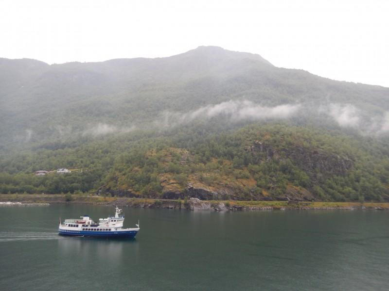 Near Flåm on the Nærøyfjord.
