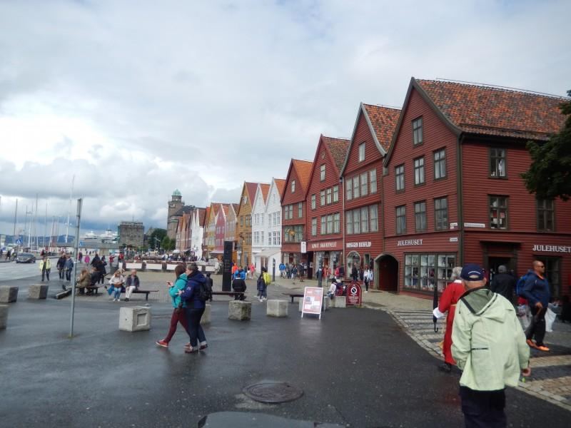 The Bryggen Wharf.