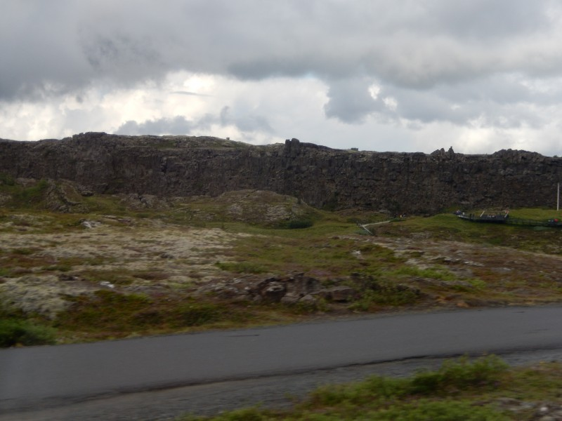 The rising North American ridge.