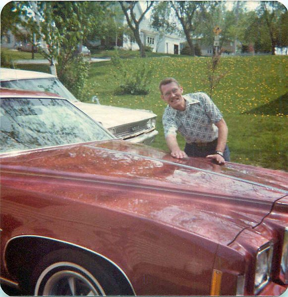 This is the picture of Denny I carry in my mind. He just bought the car and was so excited about it.