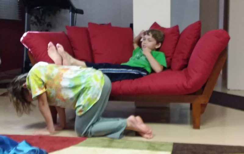 """This is how you play """"footstool."""""""