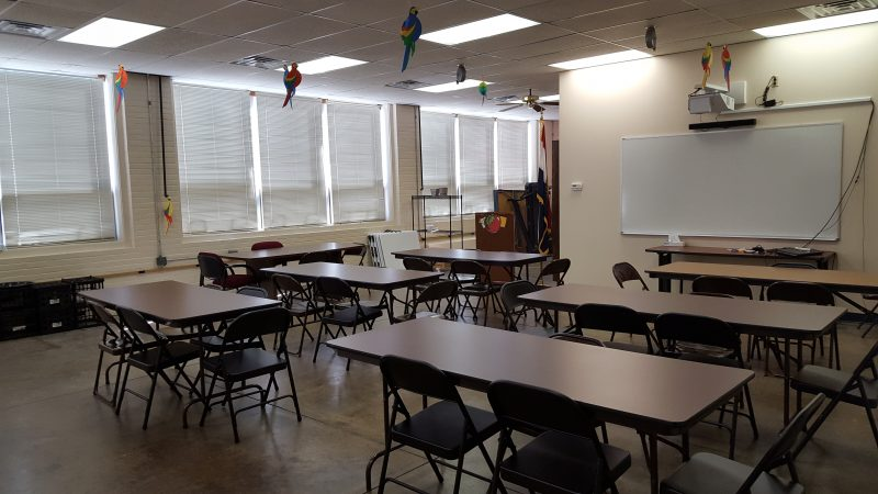 New and improved classroom-style decor