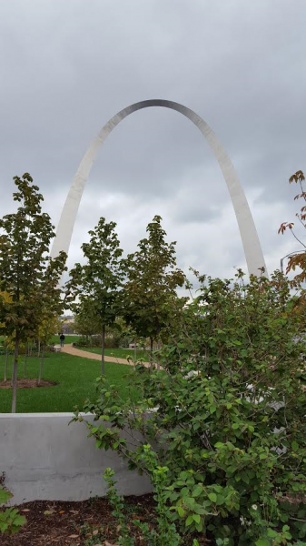Parting shot of the Arch