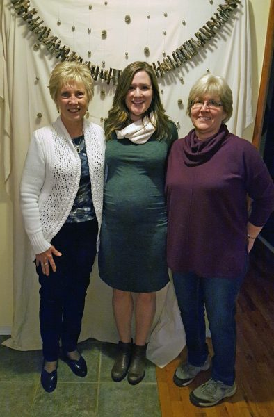 Katie and the grandmas-to-be